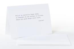 type.MANUFAKTUR Briefkarte Laotse