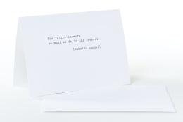 type.MANUFAKTUR Briefkarte Mahatma Gandhi