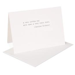 type.MANUFAKTUR Briefkarte Charles Dickens