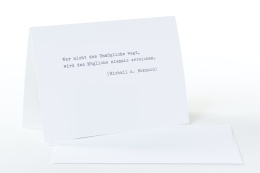 type.MANUFAKTUR Briefkarte  M.A. Bakunin