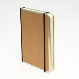 Adressbuch BASIC natur-braun | DIN A 5, 144 Blatt