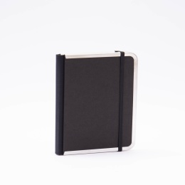 Adressbuch BASIC schwarz | 11 x 13,5 cm, 64 Blatt