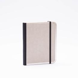 Adressbuch BASIC hellgrau | 11 x 13,5 cm, 64 Blatt