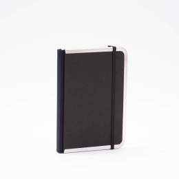 Adressbuch BASIC schwarz | 12 x 16,5 cm, 48 Blatt