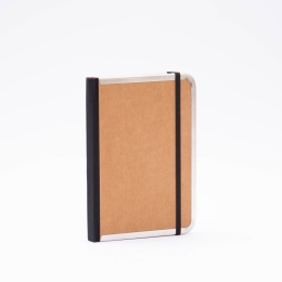 Address Book BASIC light brown | 12 x 16,5 cm, 48 sheet