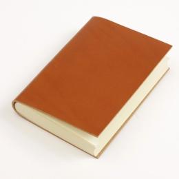 Adressbuch CLASSIC hellbraun | 12 x 16,5 cm, 48 Blatt