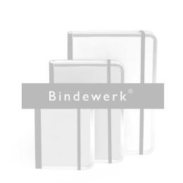 Adressbuch FILZDUETT Filz blaugrau/Gummi orange | DIN A 5, 144 Blatt