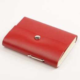 Adressbuch SCRIVO rot   11 x 13,5 cm, 64 Blatt