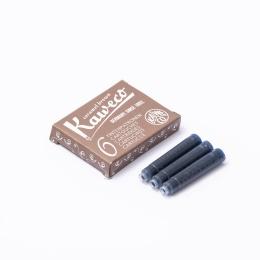 Kaweco Tintenpatronen 6-Pack Karamellbraun