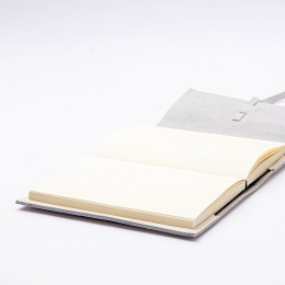 Ersatzbuchblock  12 x 16,5 cm, 144 Blatt blanko