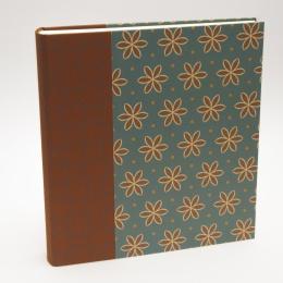 Fotoalbum ALMA Avon Blue | 23 x 24,5 cm, 30 Blatt chamois