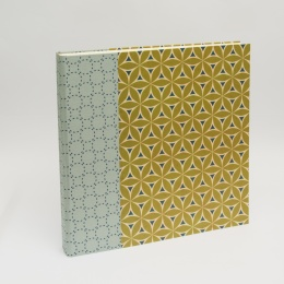Fotoalbum ALMA Devon | 35 x 35 cm, 30 Blatt chamois