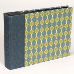 Fotoalbum ALMA Suffolk   20,5 x 15 cm, 30 Blatt schwarz