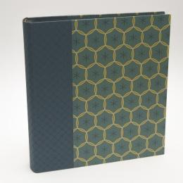 Fotoalbum ALMA Cumberland | 23 x 24,5 cm, 30 Blatt schwarz