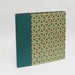 Fotoalbum ALMA Cornwall | 35 x 35 cm, 30 Blatt schwarz