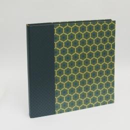 Fotoalbum ALMA Cumberland | 35 x 35 cm, 30 Blatt schwarz