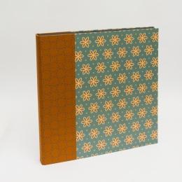 Fotoalbum ALMA Avon Blue | 30 x 30 cm, 30 Blatt schwarz