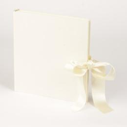 Fotoalbum FANCY vanille | 23 x 24,5 cm, 30 Blatt chamois