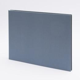 Fotoalbum geschraubt LEINEN nachtblau | 32 x 22,5 cm, 20 Blatt chamois
