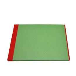 Fotoalbum True Colours rot/grün | 32 x 22,5 cm, 20 Blatt chamois