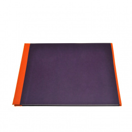 Fotoalbum True Colours orange/lila | 24 x 17,5 cm, 20 Blatt schwarz