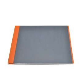 Fotoalbum True Colours orange/grau | 32 x 22,5 cm, 20 Blatt schwarz