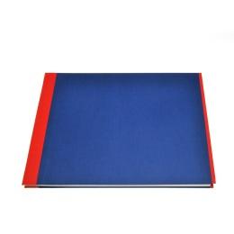 Fotoalbum True Colours rot/blau | 32 x 22,5 cm, 20 Blatt chamois