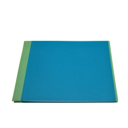 Post Bound Photo Album TRUE COLOURS green/turquois | 24 x 17,5 cm, 20 sheet black