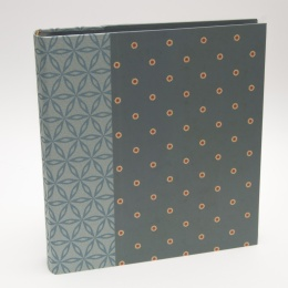 Fotoalbum JACKIE Biarritz | 23 x 24,5 cm, 30 Blatt schwarz