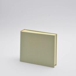 Fotoalbum LEINEN blassgrün | 23 x 24,5 cm, 30 Blatt chamois