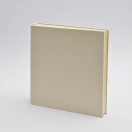 Fotoalbum LEINEN vanille | 30 x 30 cm, 30 Blatt chamois