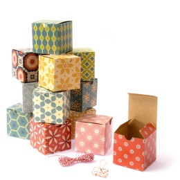 Little Gift Boxes - assortment small (= 12 pcs.) JACKIE PAPER
