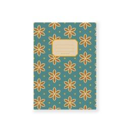 Heft DIN A5 - ALMA, blanko Avon Blue | DIN A 5, 32 Blatt blanko