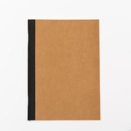 Heft ILLUSTRATOR braun | DIN A 5, 32 Blatt blanko