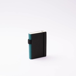 Diary CONTEMPORARY greenish blue | 9 x 13 cm,  1 day/page