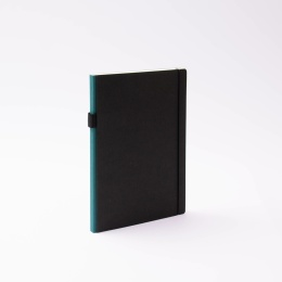 Diary CONTEMPORARY greenish blue | 17 x 24 cm,  1 week/double page