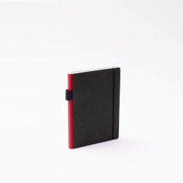 Diary CONTEMPORARY dark red | 12 x 16,5 cm,  1 week/double page