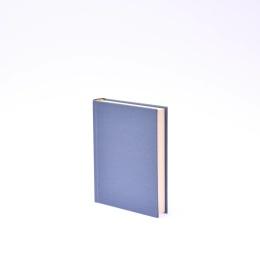 Kalender 2021 LEINEN nachtblau | 12 x 16,5 cm,  1 Tag/Seite