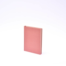 Diary LEINEN dusky pink | 12 x 16,5 cm,  1 week/double page