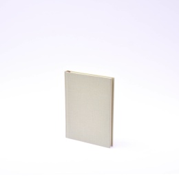 Diary LEINEN pale green   12 x 16,5 cm,  1 week/double page