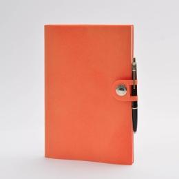 orange   17 x 24 cm,  1 week/double page