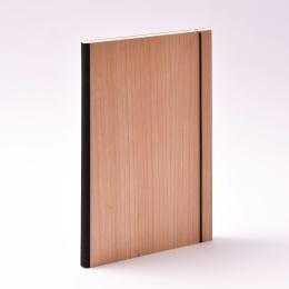 Wochenplaner 2021 PURIST WOOD Kirsche | 17 x 24 cm,  1 Woche/Doppelseite