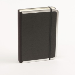 Kalender BASIC schwarz | 12 x 16,5 cm,  1 Tag/Seite
