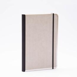 Kalender BASIC hellgrau | 17 x 24 cm,  1 Woche/Doppelseite