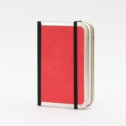 Kalender BASIC COLOUR rot | 9 x 13 cm,  1 Tag/Seite