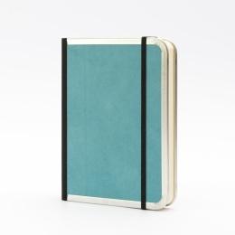 Kalender BASIC COLOUR türkis | 12 x 16,5 cm,  1 Tag/Seite