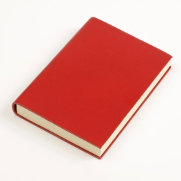 Diary CLASSIC red | 12 x 16,5 cm,  1 week/double page