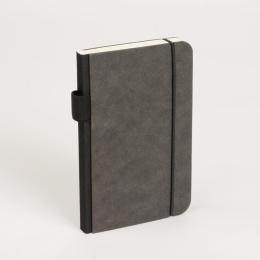 Kalender CONTEMPORARY schwarz | 8 x 12,5 cm,  1 Woche/Doppelseite