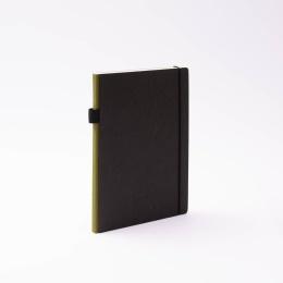 Kalender CONTEMPORARY khaki | 17 x 24 cm,  1 Woche/Doppelseite