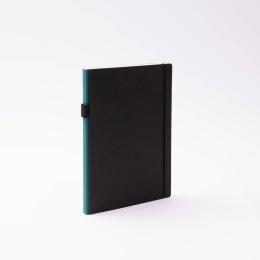 Kalender CONTEMPORARY grünblau | 17 x 24 cm,  1 Woche/Doppelseite